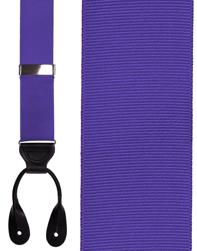 Tirantes Grosgraine Ribbon II Medium Purple Caballero