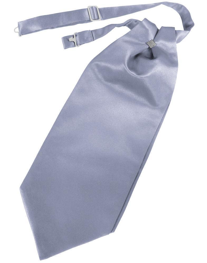 Cravat Luxury Satin Periwinkle Caballero