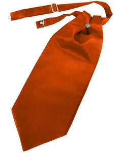Cravat Luxury Satin Persimmon Caballero