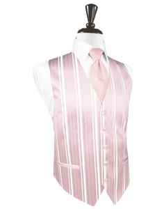 Chaleco Striped Satin Pink Caballero