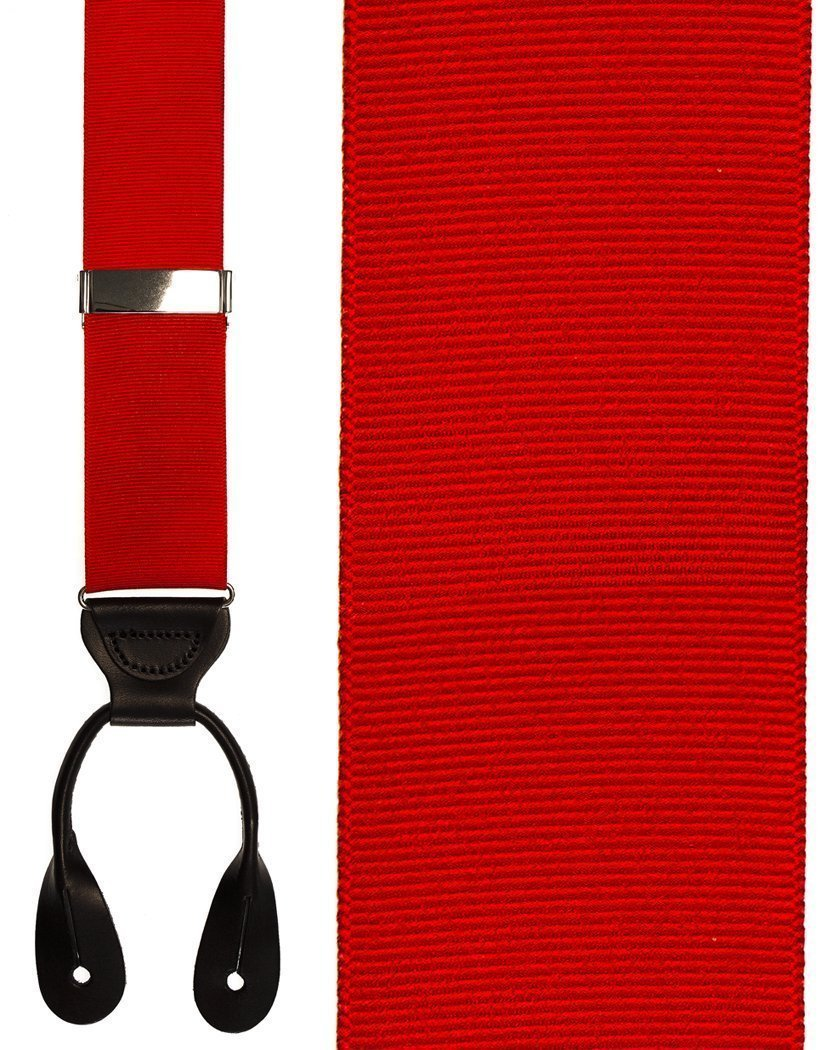 Tirantes Grosgraine Ribbon II Red Caballero