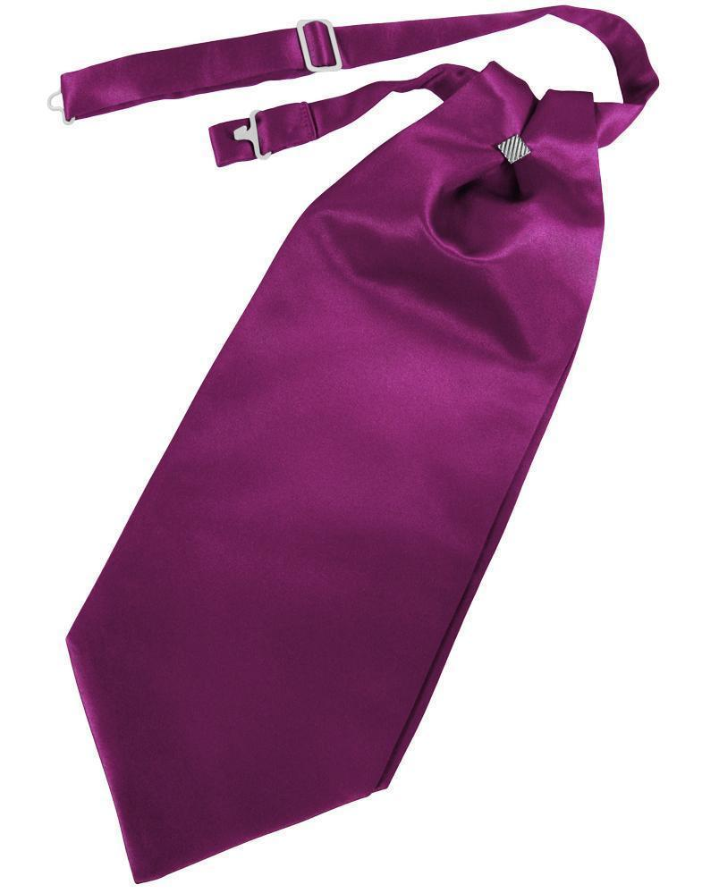 Cravat Luxury Satin Sangria Caballero