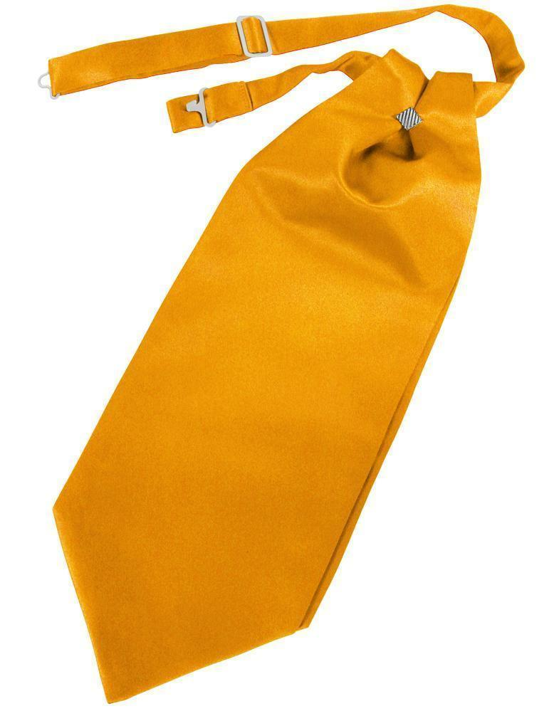 Cravat Luxury Satin Tangerine Caballero