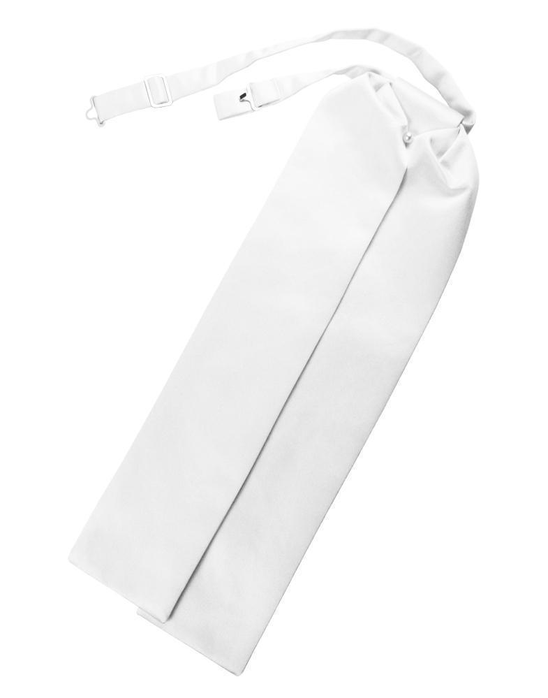 Ascot Luxury Satin White Caballero