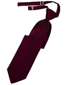 Corbata Luxury Satin Wine Caballero