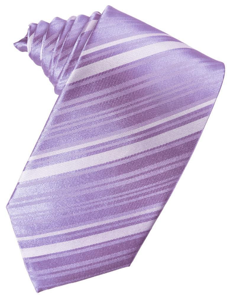 Corbata Striped Satin Wisteria Caballero