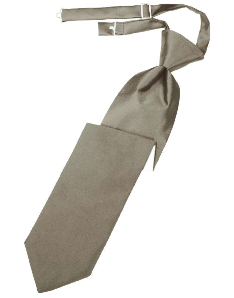 Corbata Luxury Satin Stone Niño