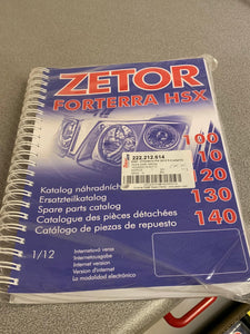 Spare Parts Manual for Forterra HSX 100, 110, 120, 130 and 140