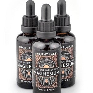 Ancient Lakes Concentrated <br> Ionic Magnesium Liquid 95ml