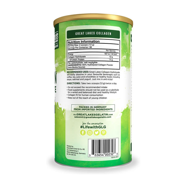Great Lakes Collagen Hydrolysate 454gr