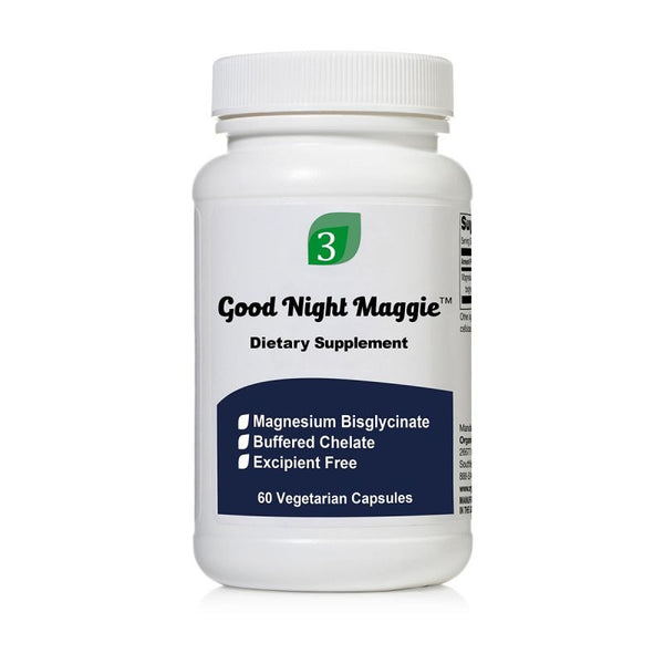 Organic 3 Good Night Maggie 60 Capsules