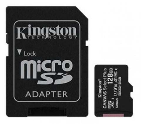 Kingston 128GB Canvas Select Plus microSD