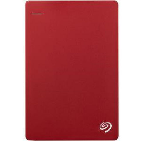 Seagate 1TB Backup Plus Slim - Red