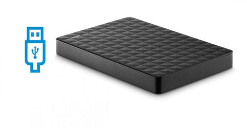 Seagate 1TB Portable HDD - Black