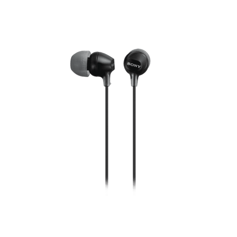 Sony In-Ear Lightweight Headphones - Black