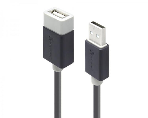ALOGIC 0.5m USB 2.0 Type A to Type A Extension Cable - Male to Female (USB Extension)