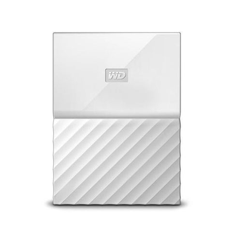 Western Digital WD 2TB USB 3.0 Portable HDD - White