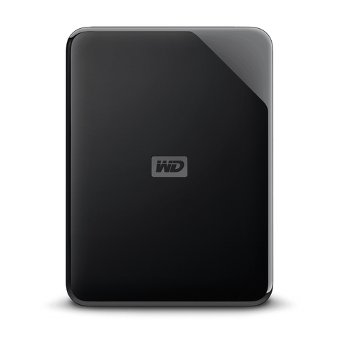 WD Elements 1TB Portable HDD USB 3.0 - Black