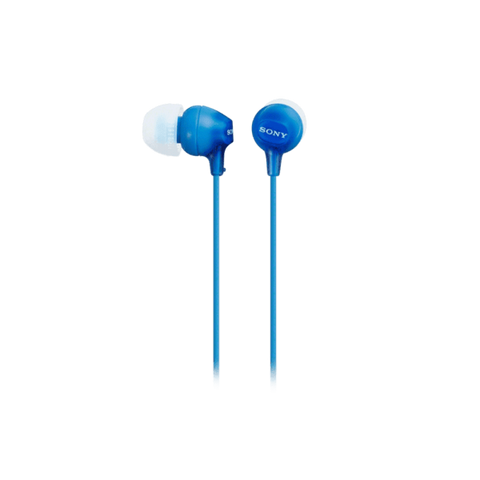 Sony In-Ear Lightweight Headphones - Blue