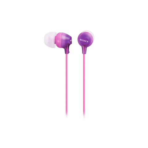 Sony In-Ear Lightweight Headphones - Violet