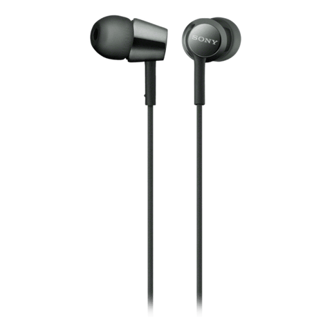 Sony EX155 In-Ear Headphones - Black