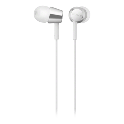 Sony EX155 In-Ear Headphones - White