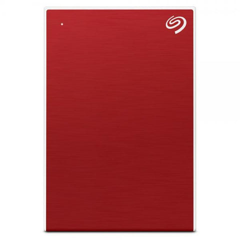 Seagate Backup Plus Slim 1TB USB 3.0 HDD - Red