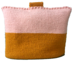 Two tone blush tea