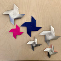 Christmas stars - selection of 6 stars