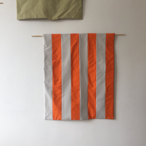 Stripes for your Wall Blanket # 8 - Orange