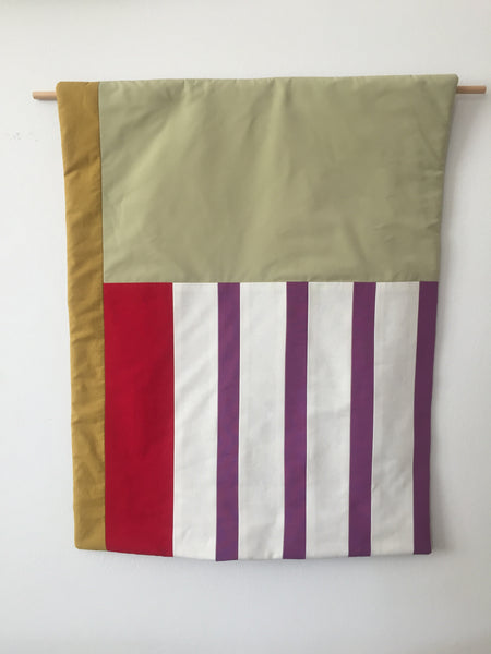 Stripes for your Wall Blanket # 10 - Lilac