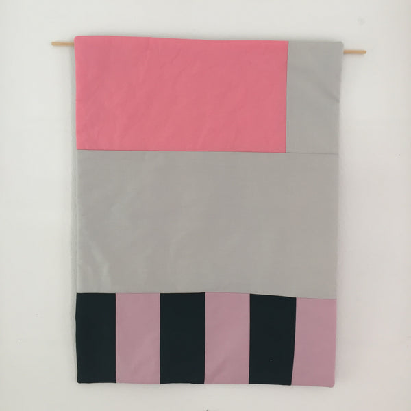 Stripes for your Wall Blanket # 1 - Rose