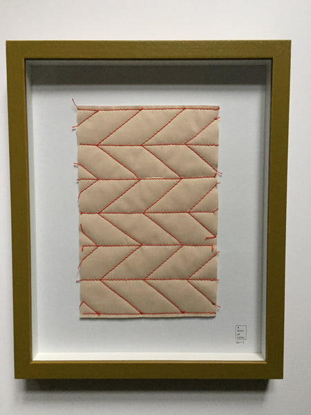 Quilt in a frame 28x35 cm