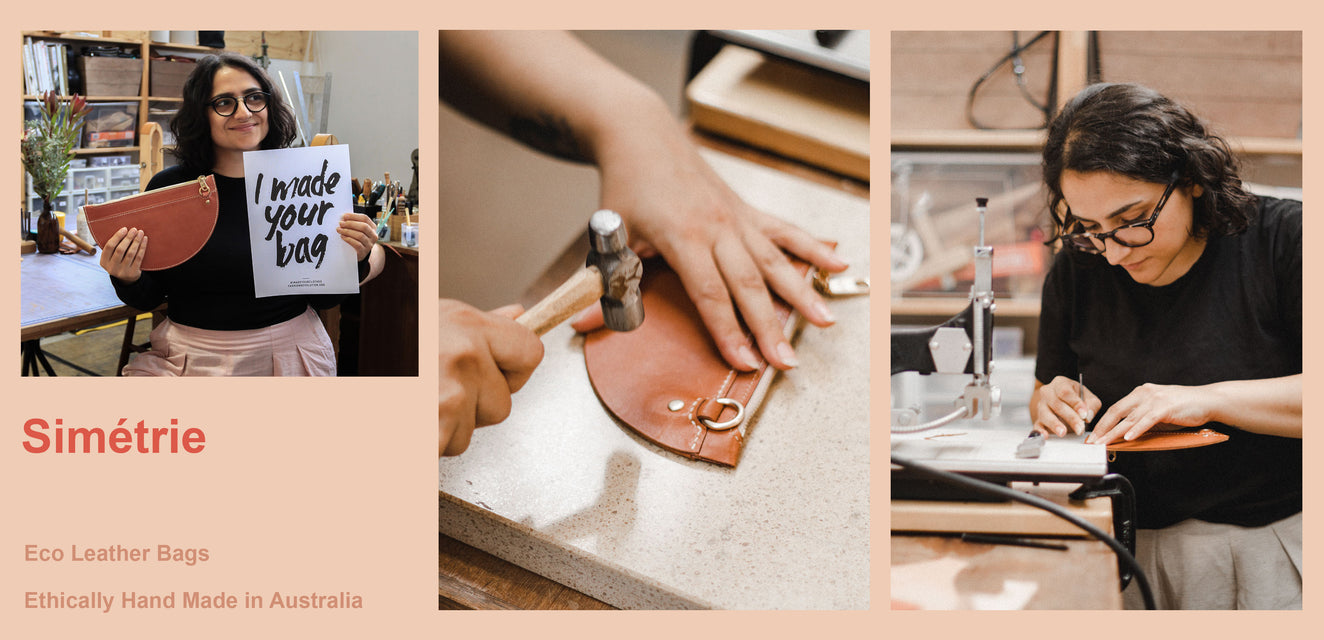 Handmade kangaroo leather bags and clutches, ethically made in Melbourne, Australia. Our range of leather accessories are made from all-natural materials
