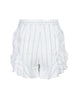 Shorts With Ruffle Trim