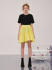 Yellow Irregular Skirt