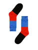 Abstract Art Coloured Socks