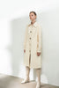 Sharp Lapel Trench Coat