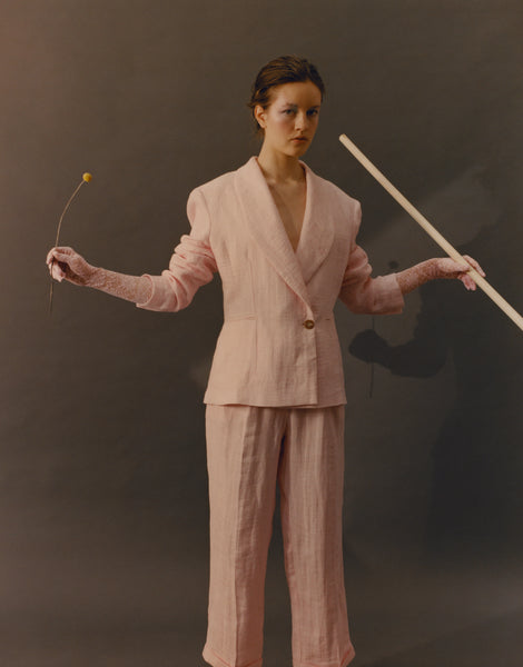 Powder Pink Trousers