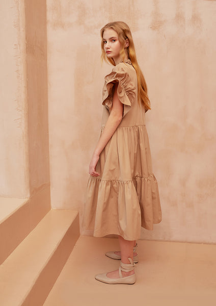 Fashion Boundary Capsule 3-Tier Prairie Dress