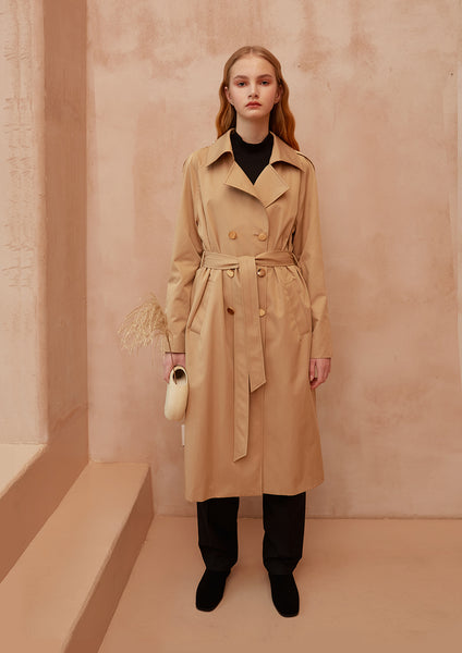 Fashion Boundary Capsule Classic Trench Coat