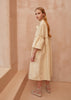 Fashion Boundary Capsule Prairie Cream Dress