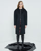 Mulholland Coat Black Wool Coating