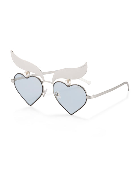 Blue Heart Sunglasses VW4002-BLUE