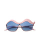 Old School Wave Pink Sunglasses VW4004-PINK
