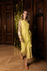 Lille Dress Neon Yellow Gold