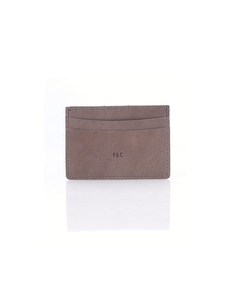 Billion Taupe Card Holder