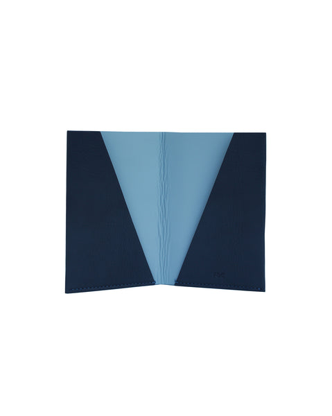 Destination Bright Navy Passport Cover