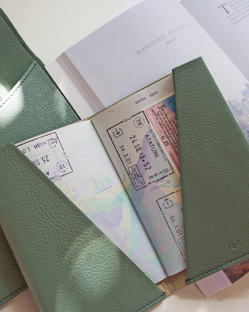 Destination Olive Passport Cover