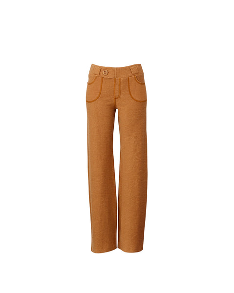 Ladies Wide Legged Luxe Lounge Pant